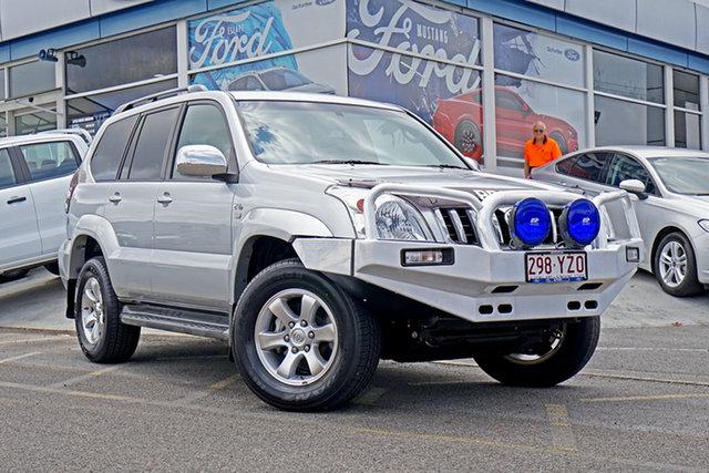 Used Toyota Landcruiser Prado KDJ120R GXL, 2009 Toyota Landcruiser Prado KDJ120R GXL Titanium 5 Speed Automatic Wagon