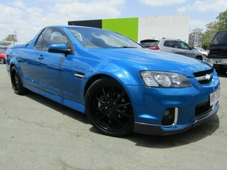 2011 Holden Commodore VE II MY12 SS-V Blue 6 Speed Manual Utility.