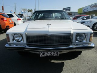 1979 Holden Kingswood HZ SL White 3 Speed Automatic Sedan