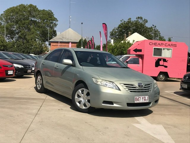 Used Toyota Camry ACV40R Altise, 2008 Toyota Camry ACV40R Altise Silver 5 Speed Automatic Sedan