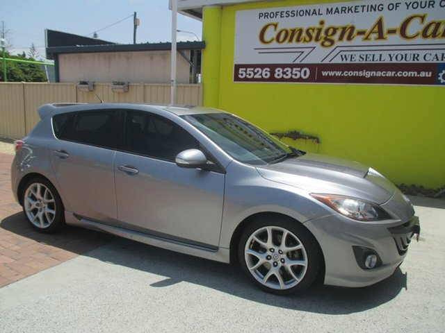 Used Mazda 3 BL1031 MPS, 2010 Mazda 3 BL1031 MPS Silver 6 Speed Manual Hatchback