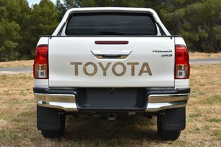 2016 Toyota Hilux GUN126R SR5 Double Cab White 6 Speed Sports Automatic Utility