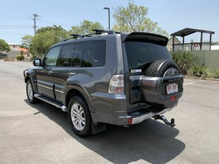 2013 Mitsubishi Pajero NW Exceed Grey 5 Speed Automatic Wagon