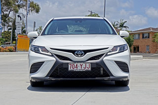 2018 Toyota Camry ASV70R Ascent Sport White 6 Speed Sports Automatic Sedan.