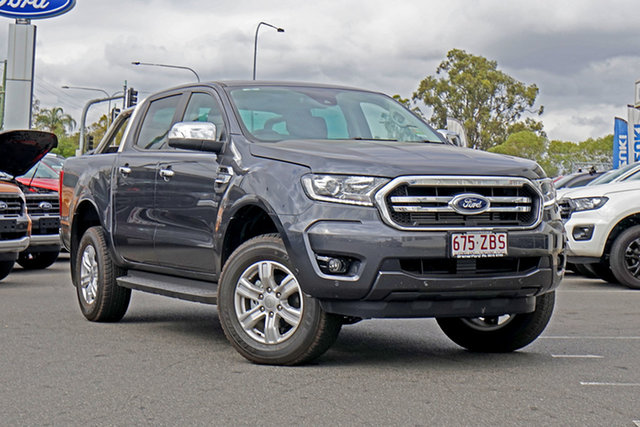 Used Ford Ranger PX MkIII 2019.75MY XLT Pick-up Double Cab, 2019 Ford Ranger PX MkIII 2019.75MY XLT Pick-up Double Cab Meteor Grey 6 Speed Sports Automatic