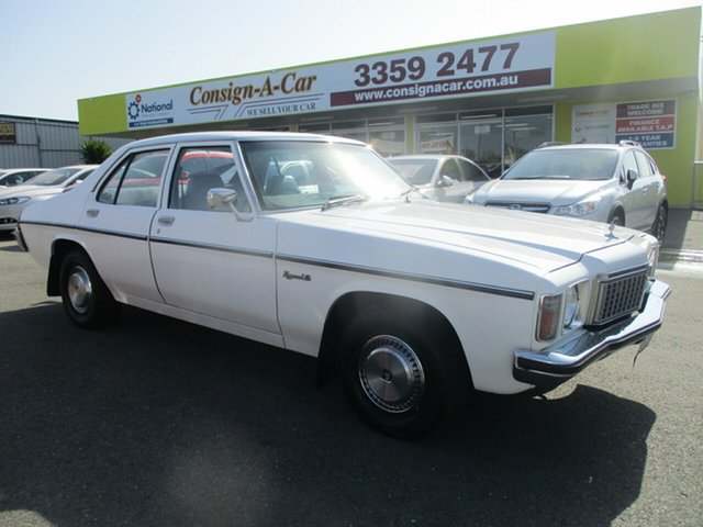 Used Holden Kingswood HZ SL, 1979 Holden Kingswood HZ SL White 3 Speed Automatic Sedan