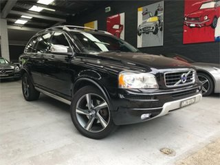 2013 Volvo XC90 P28 R-Design Black Sports Automatic Wagon.