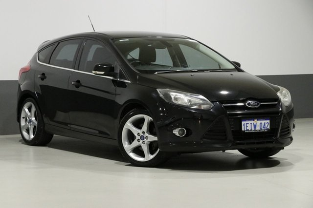 Used Ford Focus LW Titanium, 2011 Ford Focus LW Titanium Black 6 Speed Automatic Hatchback
