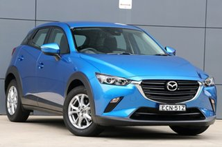 2019 Mazda CX-3 DK2W7A Maxx SKYACTIV-Drive FWD Sport Dynamic Blue 6 Speed Sports Automatic Wagon.