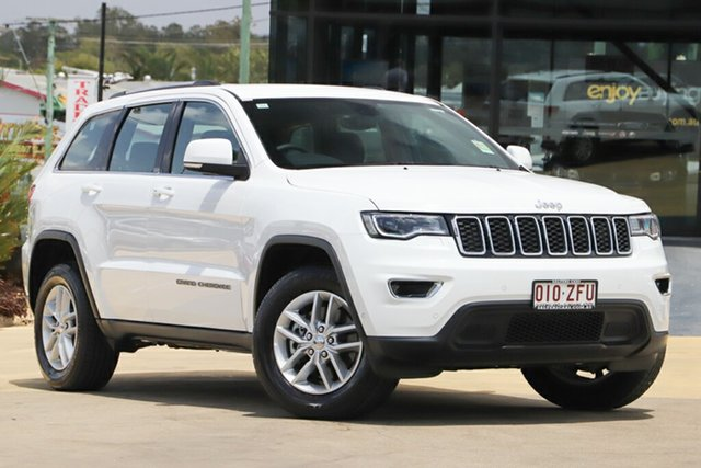 Used Jeep Grand Cherokee WK MY18 Laredo, 2018 Jeep Grand Cherokee WK MY18 Laredo Bright White 8 Speed Sports Automatic Wagon