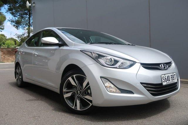 Used Hyundai Elantra MD3 Premium, 2014 Hyundai Elantra MD3 Premium Silver 6 Speed Sports Automatic Sedan