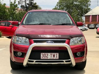 2010 Ford Territory SY MkII TS RWD Red 4 Speed Sports Automatic Wagon