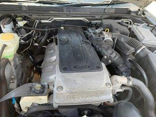 2009 Ford Falcon FG Ute Super Cab Silver 6 Speed Manual Utility