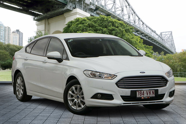 Used Ford Mondeo MD Ambiente SelectShift, 2015 Ford Mondeo MD Ambiente SelectShift White 6 Speed Sports Automatic Hatchback