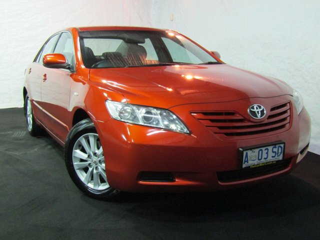 Used Toyota Camry ACV40R Altise, 2009 Toyota Camry ACV40R Altise Inferno Orange 5 Speed Automatic Sedan