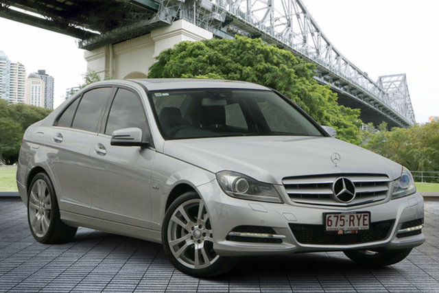 Used Mercedes-Benz C-Class W204 MY11 C250 CDI BlueEFFICIENCY 7G-Tronic Avantgarde, 2011 Mercedes-Benz C-Class W204 MY11 C250 CDI BlueEFFICIENCY 7G-Tronic Avantgarde Silver 7 Speed