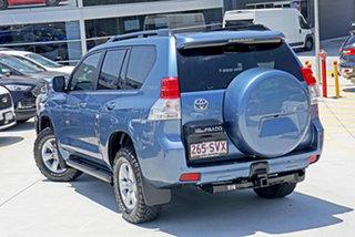 2012 Toyota Landcruiser Prado KDJ150R GXL Pacific Blue 5 Speed Sports Automatic Wagon.