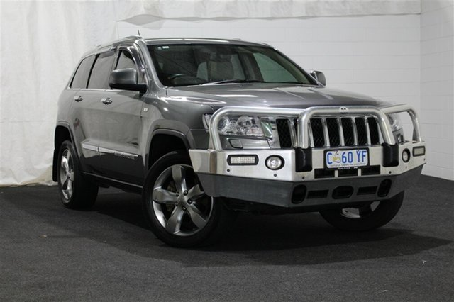 Used Jeep Grand Cherokee WK MY2012 Overland, 2012 Jeep Grand Cherokee WK MY2012 Overland Grey 5 Speed Sports Automatic Wagon