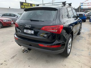 2010 Audi Q5 8R MY10 TDI S Tronic Quattro Black 7 Speed Sports Automatic Dual Clutch Wagon