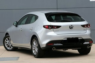 2020 Mazda 3 BP2H7A G20 SKYACTIV-Drive Pure Silver 6 Speed Sports Automatic Hatchback.
