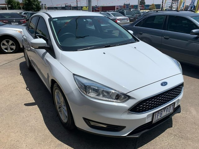 Used Ford Focus LZ Trend, 2015 Ford Focus LZ Trend White 6 Speed Automatic Sedan