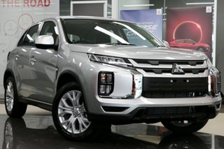 2021 Mitsubishi ASX XD MY21 ES 2WD Sterling Silver 1 Speed Constant Variable Wagon.