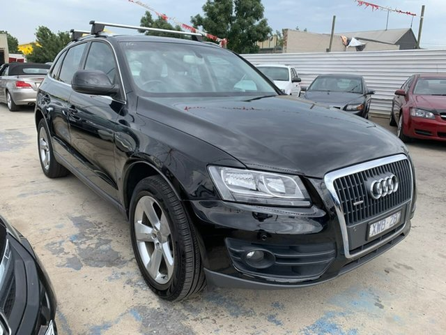 Used Audi Q5 8R MY10 TDI S Tronic Quattro, 2010 Audi Q5 8R MY10 TDI S Tronic Quattro Black 7 Speed Sports Automatic Dual Clutch Wagon