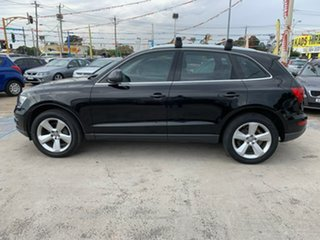 2010 Audi Q5 8R MY10 TDI S Tronic Quattro Black 7 Speed Sports Automatic Dual Clutch Wagon.