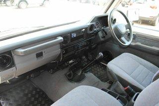 2008 Toyota Landcruiser VDJ79R GXL White 5 Speed Manual Cab Chassis