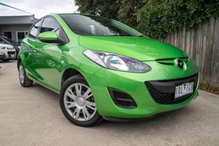 2013 Mazda 2 DE10Y2 MY13 Neo Green 4 Speed Automatic Hatchback.