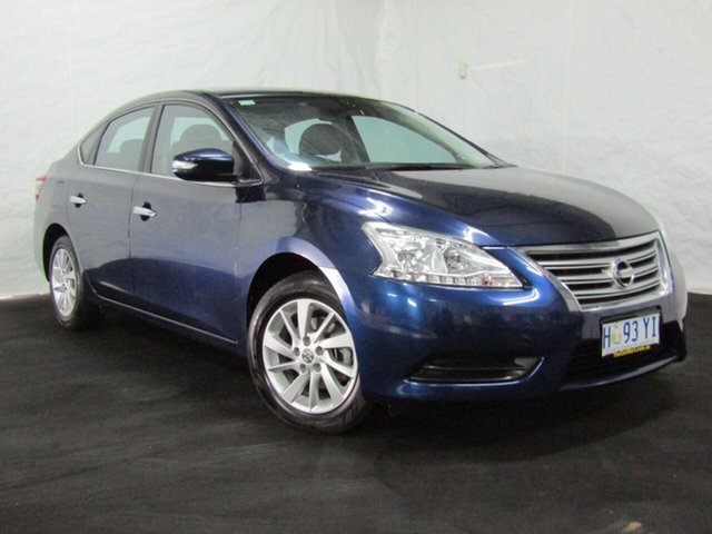 Used Nissan Pulsar B17 Series 2 ST, 2016 Nissan Pulsar B17 Series 2 ST Blue 1 Speed Constant Variable Sedan