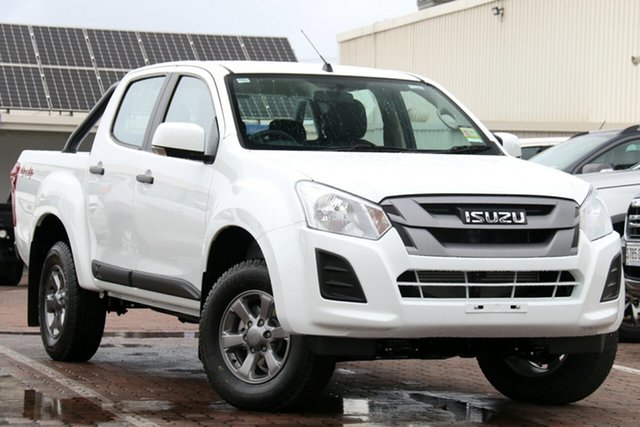 New Isuzu D-MAX MY19 X-Rider Crew Cab, 2019 Isuzu D-MAX MY19 X-Rider Crew Cab Splash White 6 Speed Sports Automatic Utility
