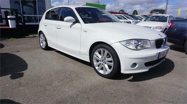 Used BMW 120i E87 120i, 2006 BMW 120i E87 120i White 6 Speed Automatic Hatchback