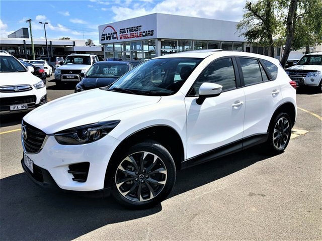Used Mazda CX-5 KE1032 Grand Touring SKYACTIV-Drive AWD, 2015 Mazda CX-5 KE1032 Grand Touring SKYACTIV-Drive AWD White 6 Speed Sports Automatic Wagon