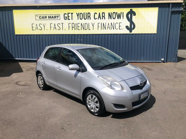Used Toyota Yaris NCP90R MY11 YR, 2011 Toyota Yaris NCP90R MY11 YR Silver 5 Speed Manual Hatchback