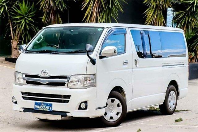 Used Toyota HiAce KDH201R , 2012 Toyota HiAce KDH201R 4 Speed Automatic Van