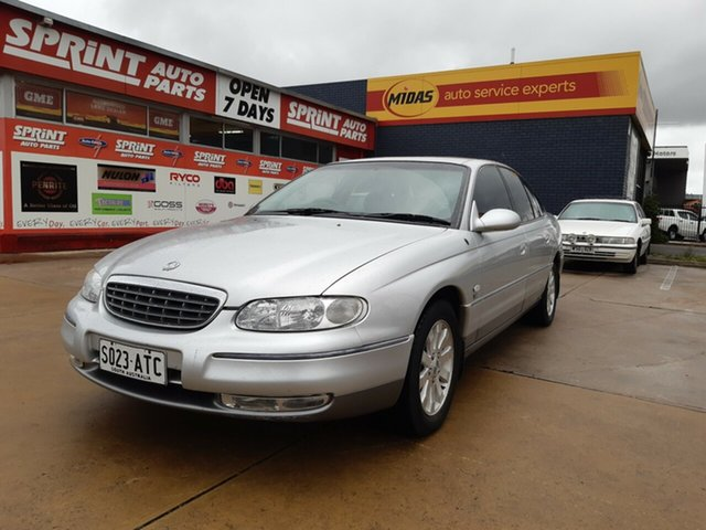 Used Holden Statesman WH , 2001 Holden Statesman WH Silver 4 Speed Automatic Sedan