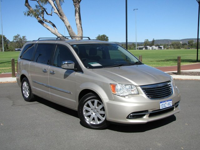Used Chrysler Grand Voyager RT 5th Gen MY12 Limited, 2012 Chrysler Grand Voyager RT 5th Gen MY12 Limited Gold 6 Speed Automatic Wagon