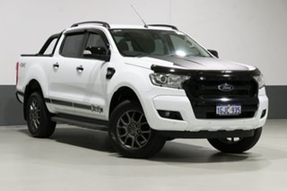 2017 Ford Ranger PX MkII MY17 FX4 Special Edition White 6 Speed Automatic Dual Cab Utility.