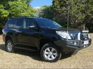 2013 Toyota Landcruiser Prado KDJ150R 11 Upgrade GXL (4x4) Ebony 5 Speed Sequential Auto Wagon.