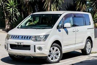 2008 Mitsubishi Delica D:5 CV5W White 6 Speed Constant Variable Van Wagon.