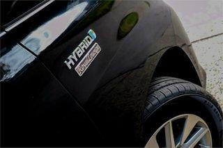 2012 Toyota Alphard ATH20 Hybrid Black Continuous Variable Wagon.