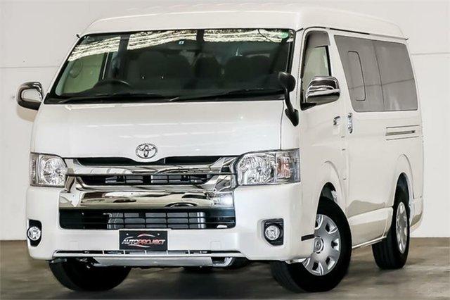 Used Toyota HiAce  GL, 2016 Toyota HiAce TRH214 GL Pearl White Automatic