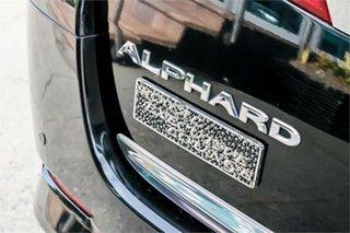 2012 Toyota Alphard ATH20 Hybrid Black Continuous Variable Wagon