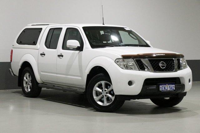 Used Nissan Navara D40 MY12 ST (4x4), 2014 Nissan Navara D40 MY12 ST (4x4) White 5 Speed Automatic Dual Cab Pick-up