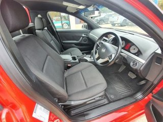 2009 Holden Commodore Ute VE SV6 Red Automatic Utility