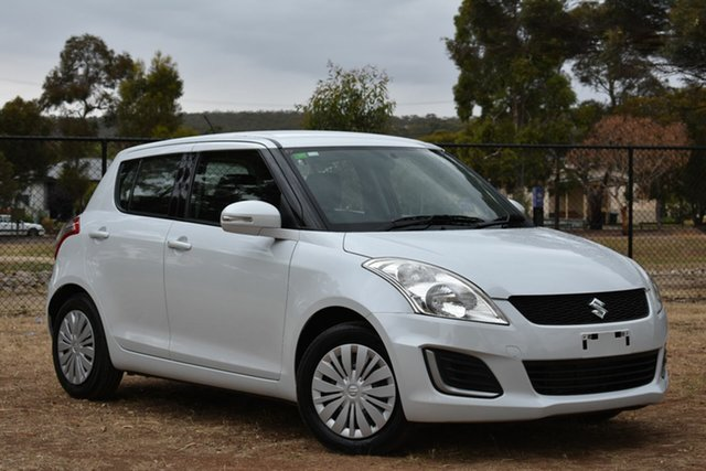 Used Suzuki Swift FZ MY14 GL, 2014 Suzuki Swift FZ MY14 GL White 5 Speed Manual Hatchback