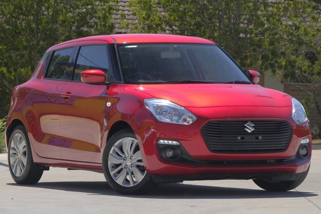 Used Suzuki Swift AZ GL Navigator, 2018 Suzuki Swift AZ GL Navigator Red 1 Speed Constant Variable Hatchback