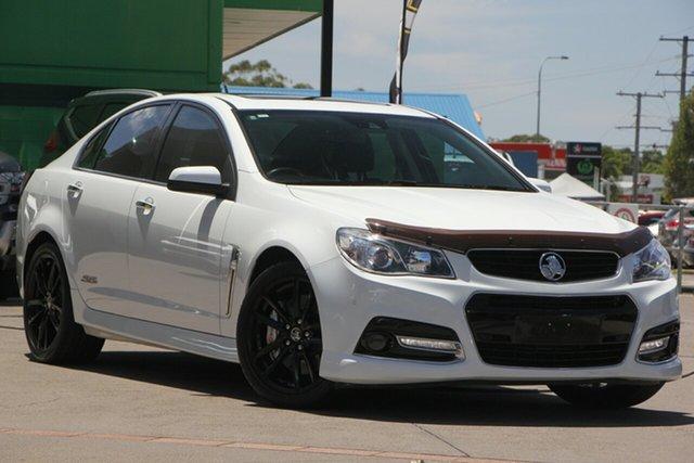 Used Holden Commodore VF MY15 SS V Redline, 2014 Holden Commodore VF MY15 SS V Redline White 6 Speed Manual Sedan