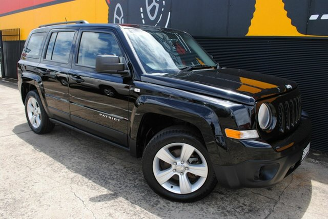 Used Jeep Patriot MK MY2013 Sport 4x2, 2013 Jeep Patriot MK MY2013 Sport 4x2 Brilliant Black Crystal Pearl 5 Speed Manual Wagon